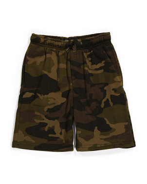 Big Boy Camo Fleece Shorts