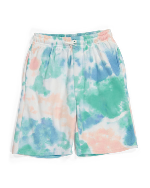 Big Boy Tie Dye Fleece Shorts