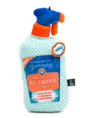 Cleaning Spray Bottle Dog Toy