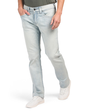 Ricky No Flap Pocket Straight Leg Jeans