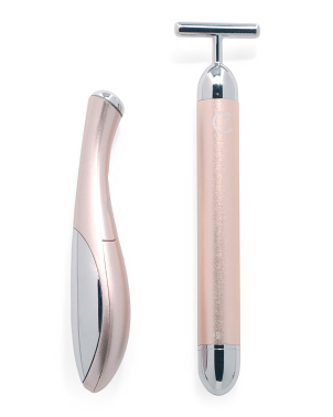 2-in-1 Ultrasonic Eye And Face Stimulators