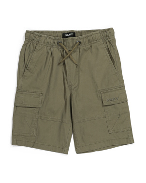 Big Boy Cargo Stretch Twill Shorts