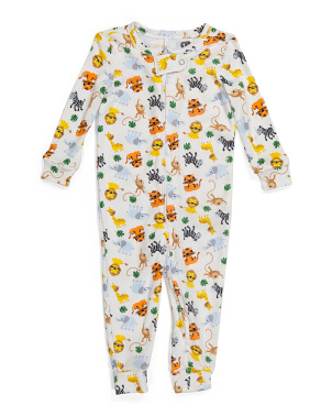 Infant Boy Safari Hacci Sleeper