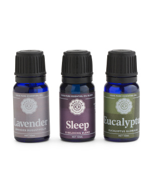 Set Of 3 Relaxation Essential Oils