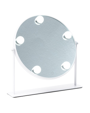 Round Led Hollywood Vanity Mirror