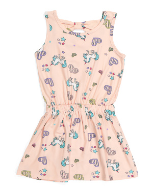 Big Girls Unicorn Dress