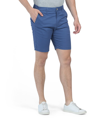 Sateen Chino Shorts