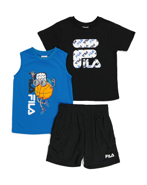 Little Boy 3pc Basketball Active Set