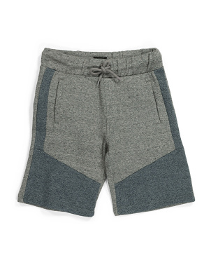 Big Boy Marled Fleece Shorts