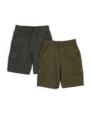 Little Boy 2pk Cargo Shorts