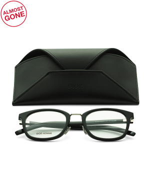 Men's 52mm Designer Opticals