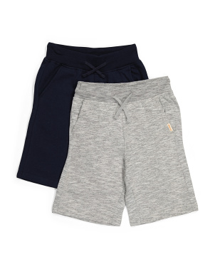 Big Boy 2pk Fleece Shorts