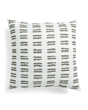 Made In Usa 22x22 Indoor Outdoor Textured Pillow