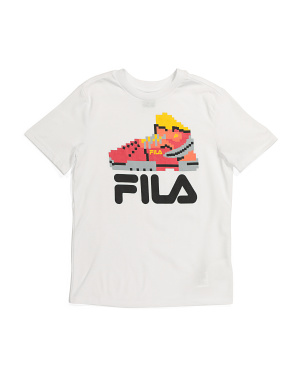 Big Boy Sneaker Logo Graphic Tee