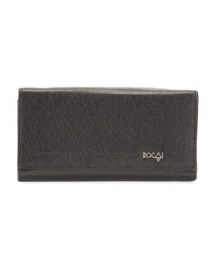 Made In Spain Leather Continental Wallet