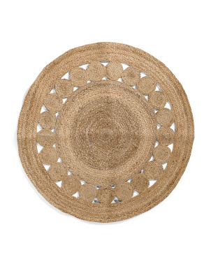 36in Round Scatter Rug