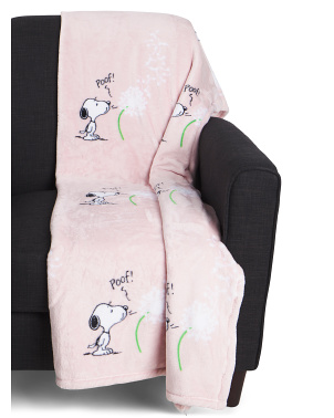 Snoopy Maw Spring Throw