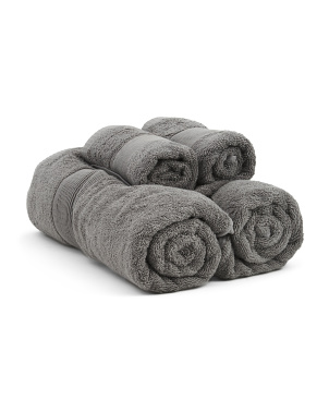 4pc Organic Cotton Towel Set