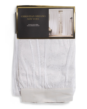Set Of 2 Priscilla Thermal Blackout Curtains