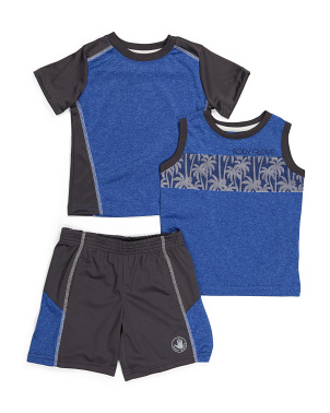 Toddler Boy 3pc Active Set