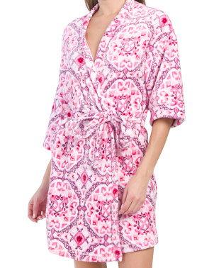 Floral Belted Robe