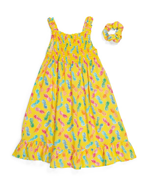 Big Girls Pineapple Dress
