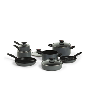 12pc Softworks Nonstick Cookware Set