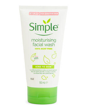 5oz Moisturizing Face Wash
