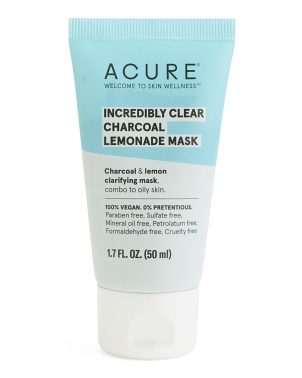 1.7oz Incredibly Clear Charcoal Lemonade Face Mask