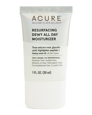 1oz Resurfacing Dewy All Day Moisturizer