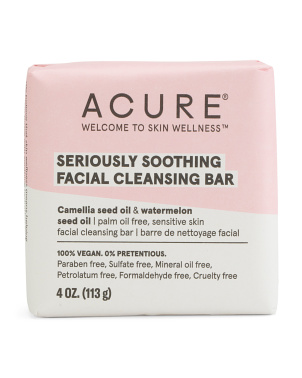 4oz Seriously Soothing Facial Cleansing Bar