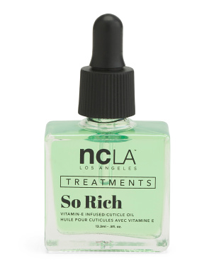 So Rich Matcha Tea Cuticle Oil