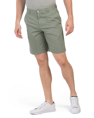 Pima Cotton Blend Skipjack Shorts