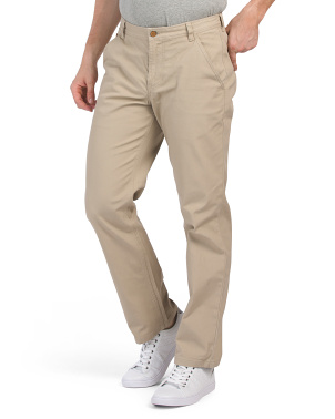 Five Pocket Canvas Classic Pants