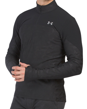 Qualifier Stealth Half Zip Pullover Top