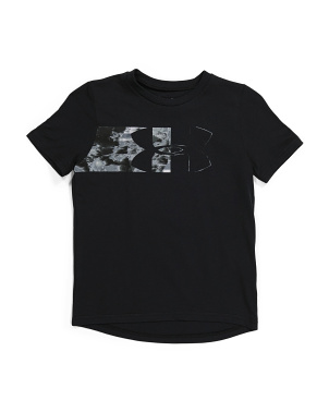 Boys Split Logo Tee