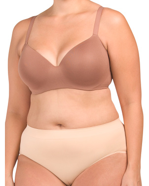 Full Figure Flawless Comfort Seamless Contour Bra