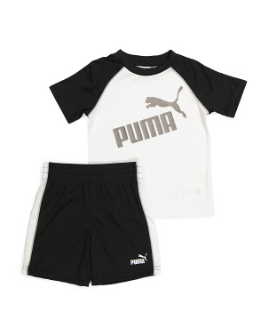 Toddler Boy 2pc Tee And Short Active Set