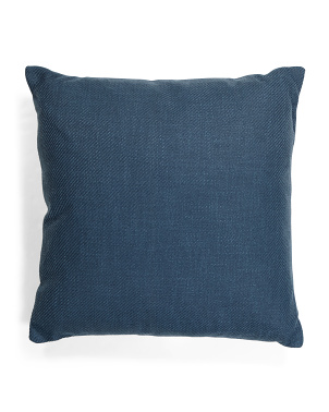 Made In Portugal 22x22 Textured Pillow With Zipper