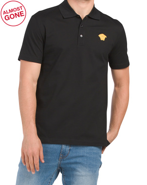 Made In Italy Medusa Logo Polo