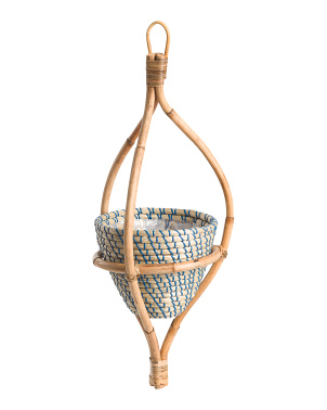 Hanging Wooden Planter