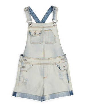 Big Girls Essie Denim Shortalls