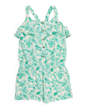 Big Girls Maren Tropical Romper