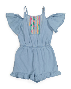 Big Girls Skylar Romper