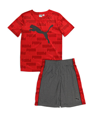 Big Boy 2pc Tee And Shorts Active Set