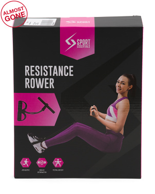 Resistance Rower