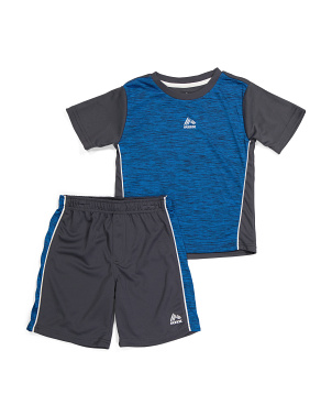 Little Boy 2pc Short Set
