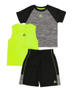 Little Boy 3pc Active Short Collection