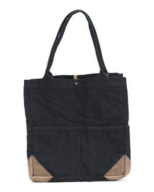 Fremont Mixed Material Tote