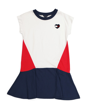 Big Girls Color Block Dress